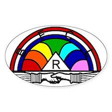 Rainbow Decal