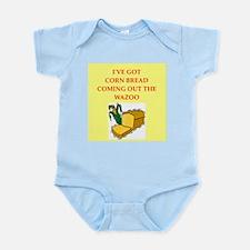 corn,bread Infant Bodysuit