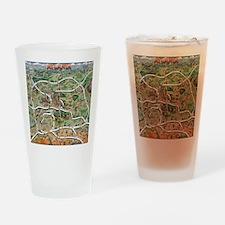 Atlanta Blanket Drinking Glass