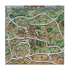 Atlanta Blanket Tile Coaster