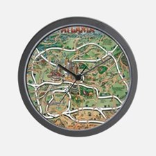 Atlanta Blanket Wall Clock