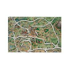 Atlanta Blanket Rectangle Magnet