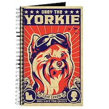 Obey the YORKIE! Retro Pilot Journal