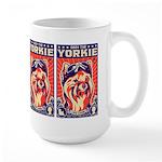 Obey the YORKIE! Pilot Retro Large Mug
