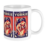 Obey the YORKIE! Propaganda UK Pilot Mug