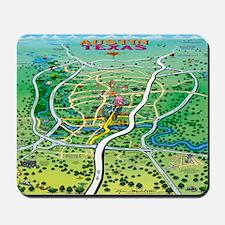 Austin Map Blanket Mousepad