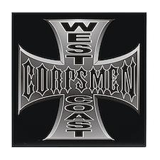 West Coast Corpsmen Tile Coaster