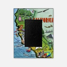 California Map Blanket Picture Frame
