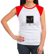 Tweet your Weiner Right Women's Cap Sleeve T-Shirt