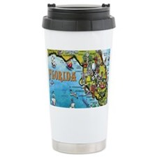 FloridaMap Blanket Travel Mug