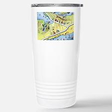 Galveston2010 Blanket Stainless Steel Travel Mug