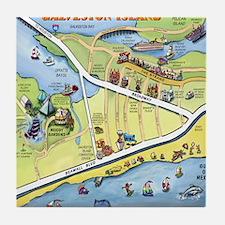 Galveston2010 Blanket Tile Coaster