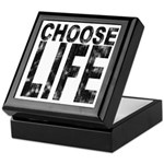 Choose Life Distressed Keepsake Box