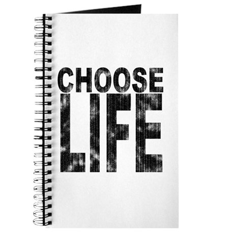 Choose Life Distressed Journal