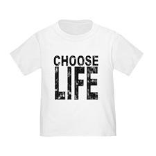 Choose Life Distressed T