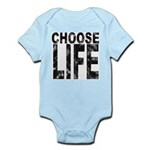 Choose Life Distressed Infant Bodysuit