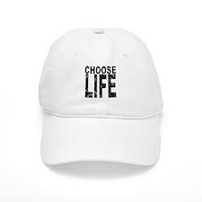 Choose Life Distressed Baseball Cap