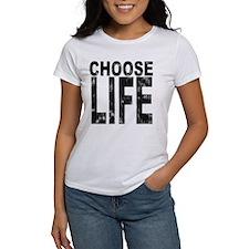 Choose Life Distressed Tee