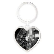 Eureka Springs-2011-3 Heart Keychain