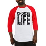 Choose Life Distressed Baseball Jersey