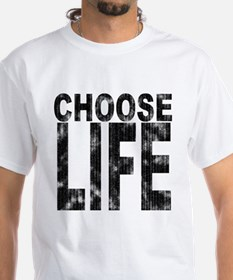Choose Life Distressed Shirt
