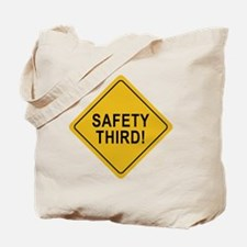 Safety_Third Tote Bag