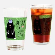 MAGScatBLACK Drinking Glass