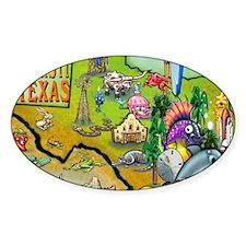 Corpus Christi TEXAS Map Blanket Decal