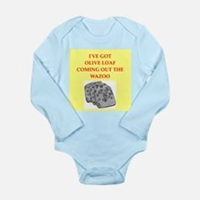 olive loaf Long Sleeve Infant Bodysuit