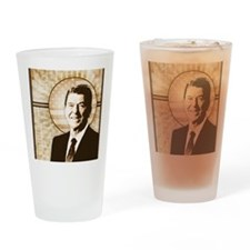 april11_reagan_retro Drinking Glass