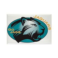 Jaguar Rectangle Magnet