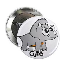 "TriceratopsCute 2.25"" Button"