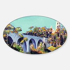 Cabrillo Bridge Balboa Park RD Ricc Decal