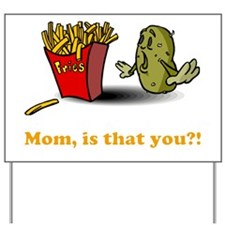 potato-fries-drk Yard Sign