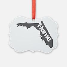 Florida-Home---Gray Ornament
