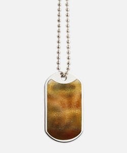 Beaten Gold Dog Tags