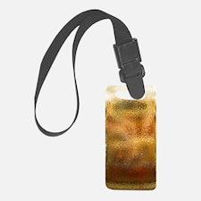 Beaten Gold Luggage Tag