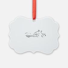 future biker black Ornament