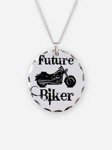 future biker baby Necklace
