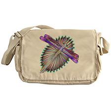 Dragonfly-Aurora Messenger Bag