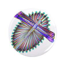 """Dragonfly-Aurora 3.5"""" Button"""