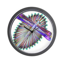 Dragonfly-Aurora Wall Clock