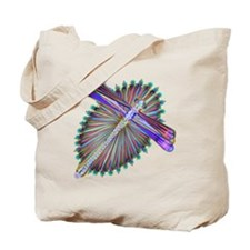 Dragonfly-Aurora Tote Bag