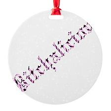 bitchalicious Ornament