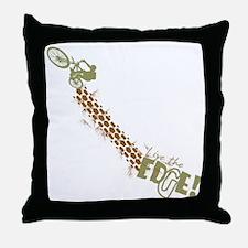 mtn bike Throw Pillow