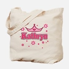 Kathryn Princess Crown Star Tote Bag