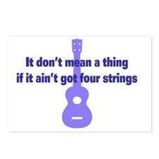 It Dont Mean A Thing if i Postcards (Package of 8)