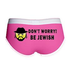 Be Jewish Bumper Sticker Women's Boy Brief