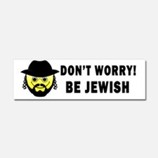 Be Jewish Bumper Sticker Car Magnet 10 x 3