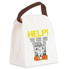 d20Help Canvas Lunch Bag